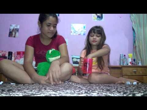 Mundo da Fernanda desafio uma palavra uma música com minha amiga Bianca