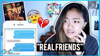 """Real Friends"" LYRIC PRANK ON BEST FRIEND! *She Cries* 😢😢"