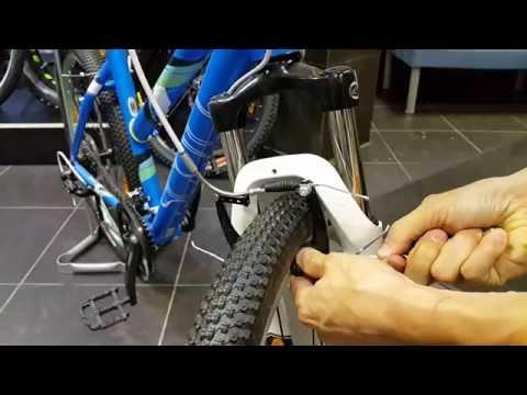 Настройка ободных тормозов v-brake