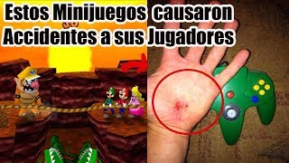 Los Minijuegos de Mario Party que Causaron Multiples Accidentes y Caos a sus Jugadores