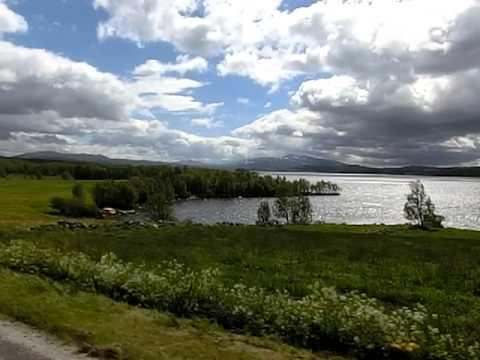 HOG Rally Røros 2012. Fin natur i vakre Trøndelag, på tur til Olavsgruva