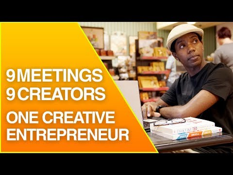 Watch a Creative Entrepreneur Take 9 Meetings in One Day