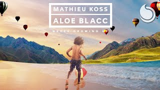 Mathieu Koss & Aloe Blacc - Never Growing Up (Official Audio)