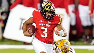 Taulia Tagovailoa First Maryland Touchdown | Minnesota Vs Maryland 2020