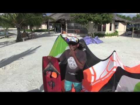 Kiteboarding Maldives