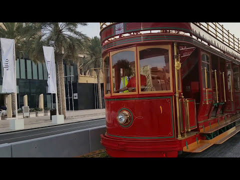 Dubai Trolley at Burj Khalifa, Downtown Dubai