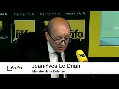 """Jean-Yves Le Drian (PS) : """"Nous avons frappé cette nuit aux environs de Mossoul"""""""