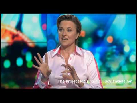 Lucy Lawless The Project NZ - Edited 27 Feb 2017