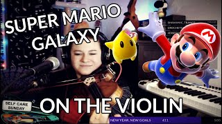 Starship Galaxy Theme ON THE VIOLIN - Super Mario Galaxy - Phunk Phiddler