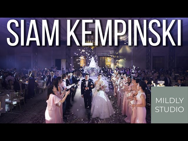 Wedding Photography @ Siam Kempinski Hotel  ภาพแต่งงานโรงแรมสยาม เคมปินสกี้ กรุงเทพ by mildly studio