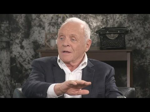 """Anthony Hopkins of """"The Dresser"""" talks about what drove him to walk out of a play he was in."""