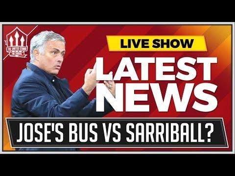 How MOURINHO Can Beat SARRIBALL! Man Utd News