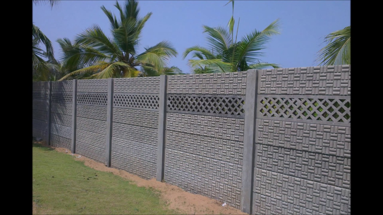 Precast Compound Wall : Precast boundary walls chennai at rs youtube