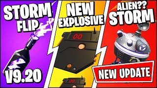 *NEW* Fortnite Update *RIGHT NOW* | NEW STORM FLIP BROKEN!! & FREE REWARDS (Patch Notes v9.20)