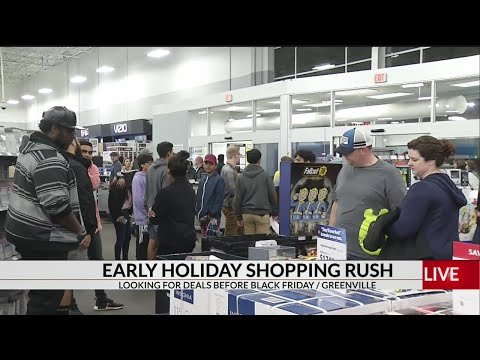 The Morning Rush - Most Americans Will Go Shopping On Thanksgiving!