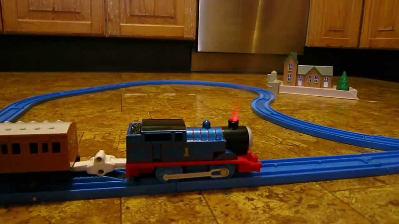 Thomas the Train with red smoke effects - YouTube