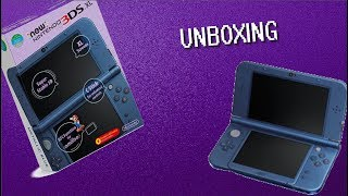 New 3DS unboxing - Mini episode
