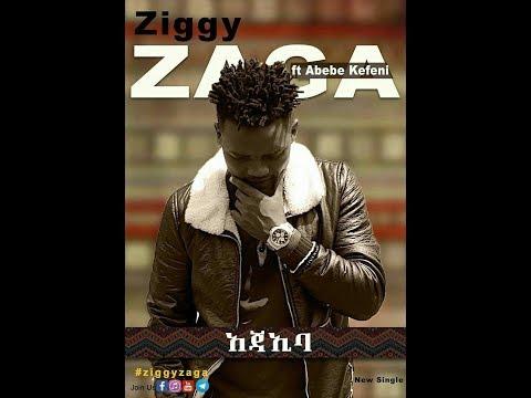 Ziggy Zaga feat  Abebe Kefeni   AJAIBA Lyrics Video