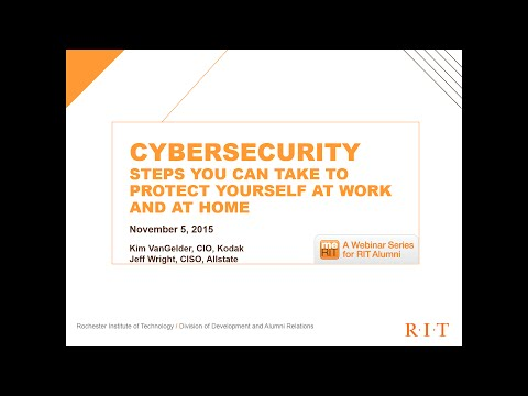 Cybersecurity: Steps you can take to protect yourself at work and at home