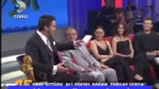 "Kivanc Tatlitug in "" Beyaz Show "" May 2010 ( Part 6 )"