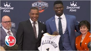 Zion Williamson appreciates the family feel of the city of New Orleans | 2019 NBA Draft