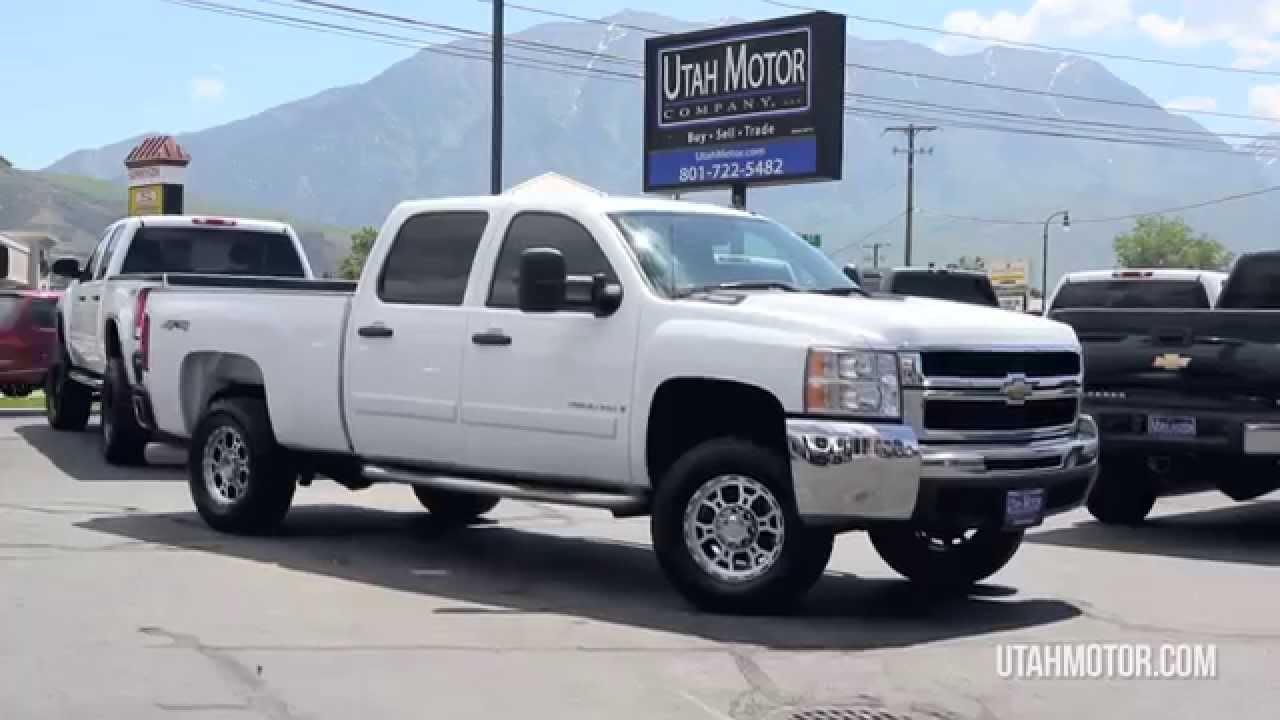 2007 Chevrolet Silverado 2500HD LT Duramax 6.6L Diesel   Utah Motor  Company,LLC (801)722 5482