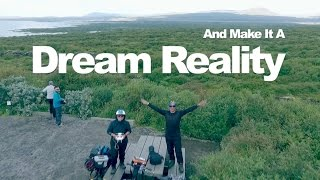 33 Days Folding Bicycle Touring in Iceland via Ring Road - Trailer