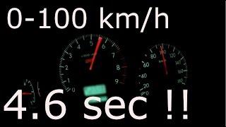 (320PS) 最速SUV !? 0-100 km/h スバル フォレスター 加速 4.6sec [subaru forester]