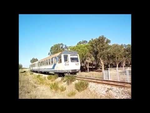 Les trains de la Corse Août 2016