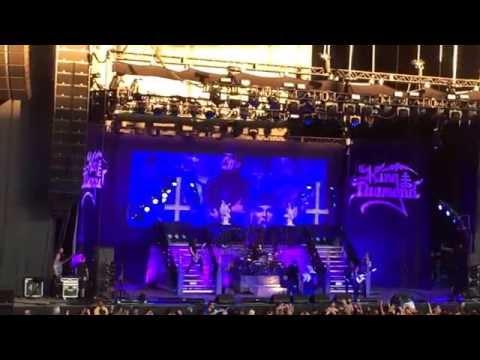 KING DIAMOND - WELCOME HOME - Rockstar Mayhem Festival - June 30th 2015 - White River Amphitheater