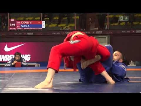 1/8 Men's GP Gi - 71 kg: M. TODAIEV (UKR) v. A. BARBA (ITA)