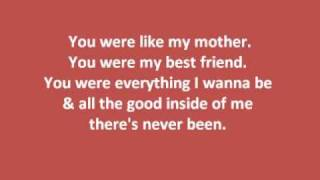 Kellie Pickler- My Angel w/ lyrics