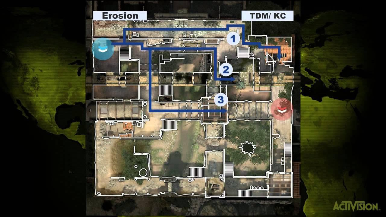Mw3 How To Spawn Kill On Erosion Tutorial Youtube