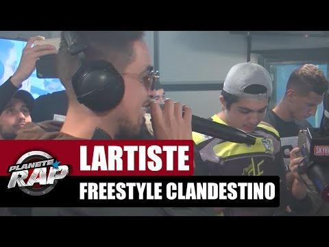 "Lartiste - Freestyle ""Clandestino"" #PlanèteRap"