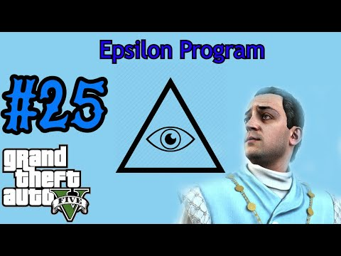 Grand Theft Auto V Walkthrough Part 25 - EPSILON CULT