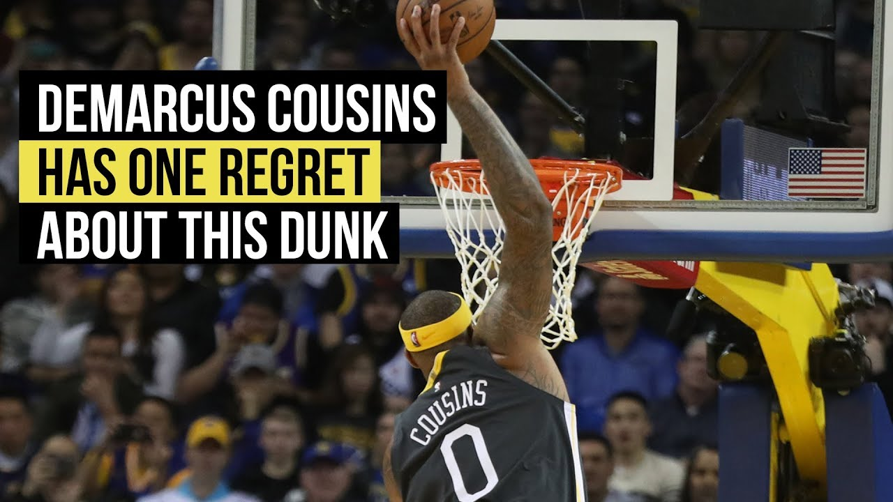 334c3fae1 DeMarcus Cousins has one regret tied to his game-changing dunk - YouTube
