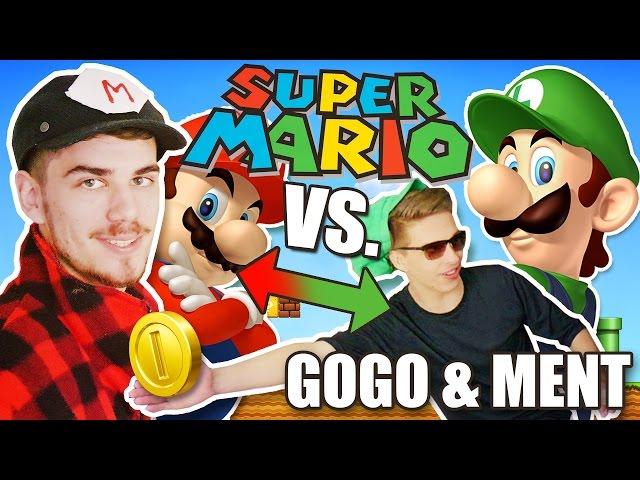 SUPER MARIO BATTLE │ GOGO & MENT