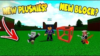 *NEW* PLUSHIES?! Build a Boat for Treasure ROBLOX