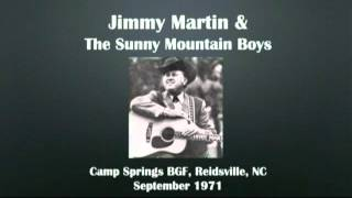 【CGUBA079】Jimmy Martin & The Sunny Mountain Boys September 1971