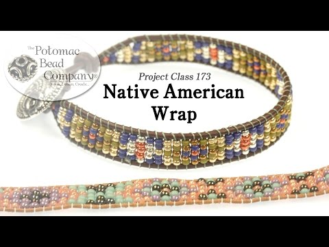 Native American Style Wrap Bracelet