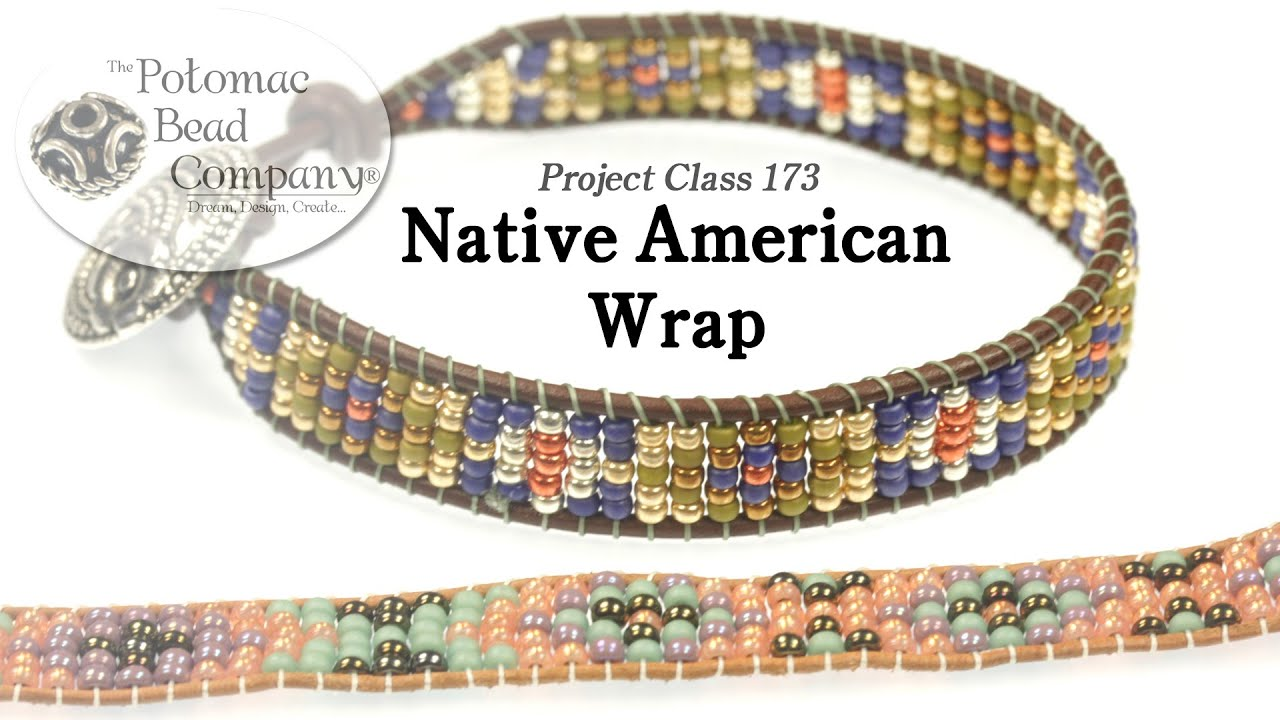 Native American Style Wrap Bracelet Youtube