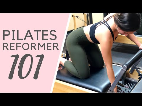 Pilates Reformer: The first 5 pieces you should know before class