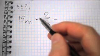 Задача №559. Математика 6 класс Виленкин.