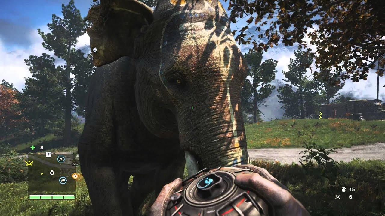 Far Cry 4 Wallpaper Elephant: War Elephant