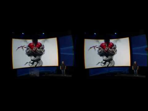 VR Experiencing PlayStation Experience Street Fighter V thru Oculus Rift DK 2 & Virtual Desktop