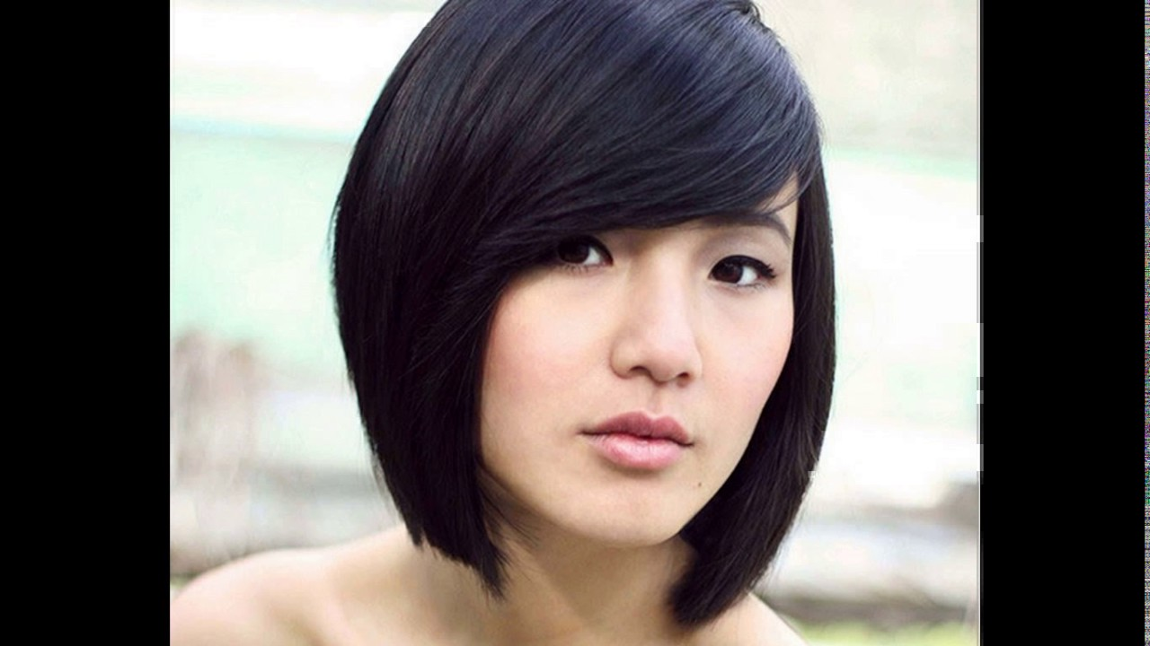 Fashion style Asian Haircut women for lady