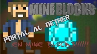 Como haser el portal al nether mine blocks