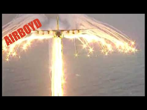 C-130 Angel Wing Flare Pattern