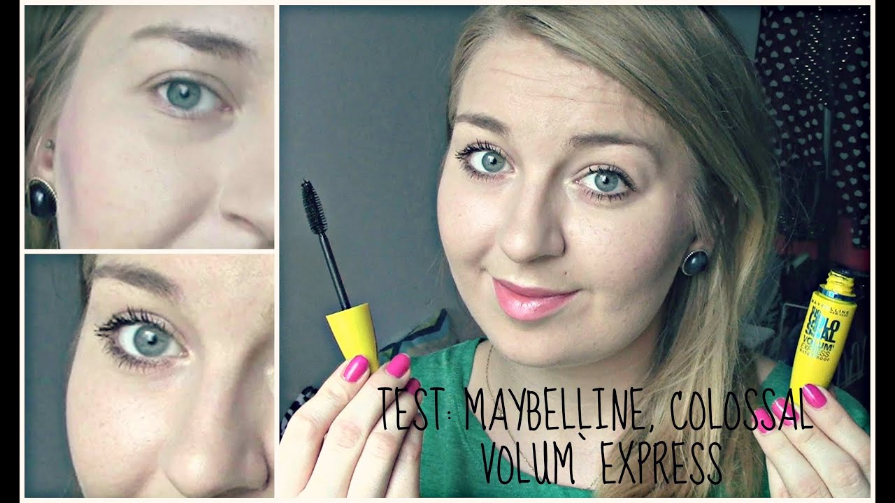 Mascara maybelline volum express colossal