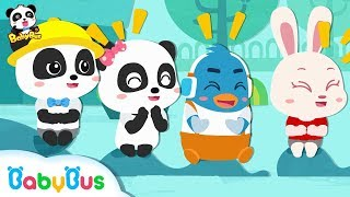 Baby Panda Wanna Play Games | Who's Gonna Be the Next | Number Counting Song, Learn Colors | BabyBus